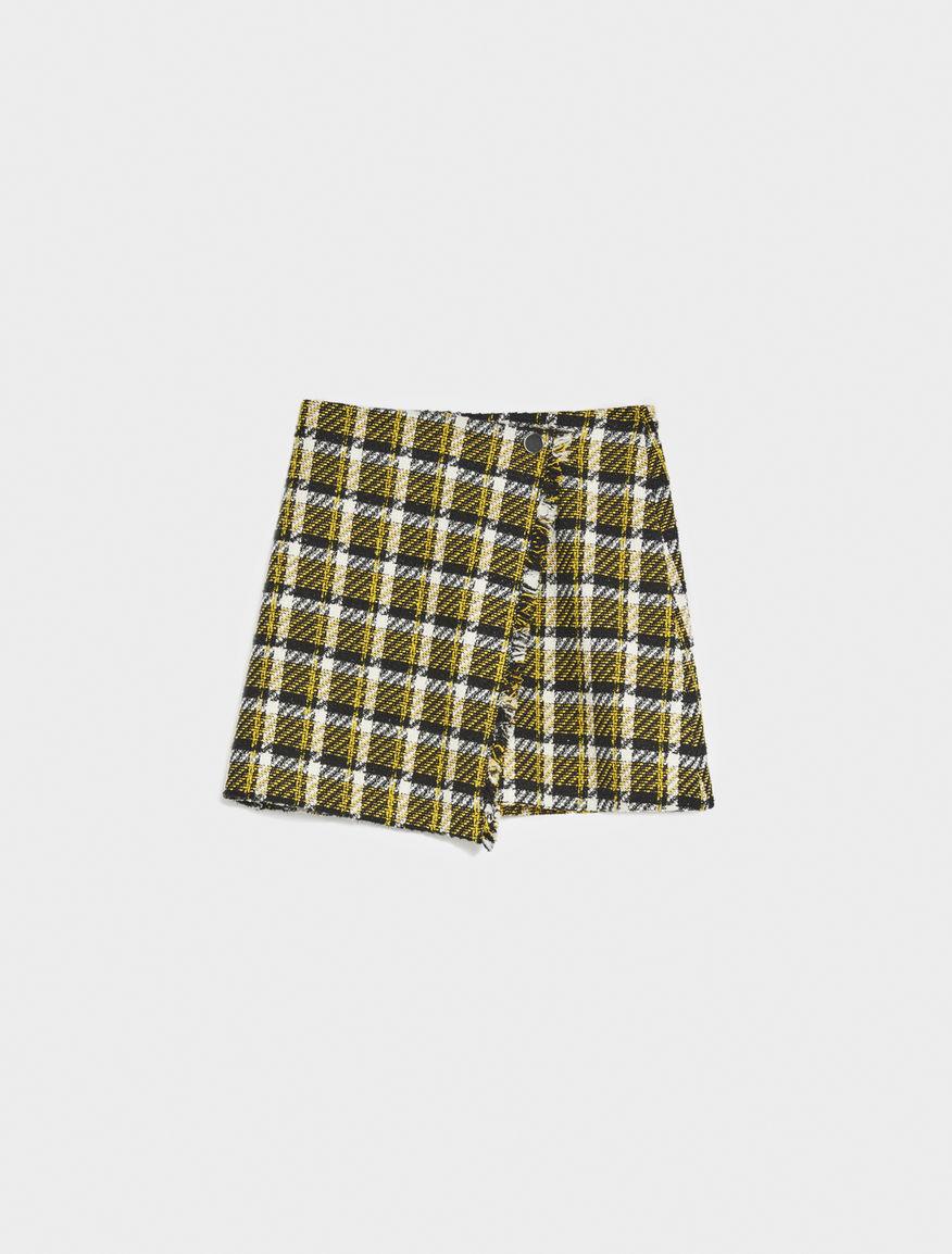 Fringed skirt
