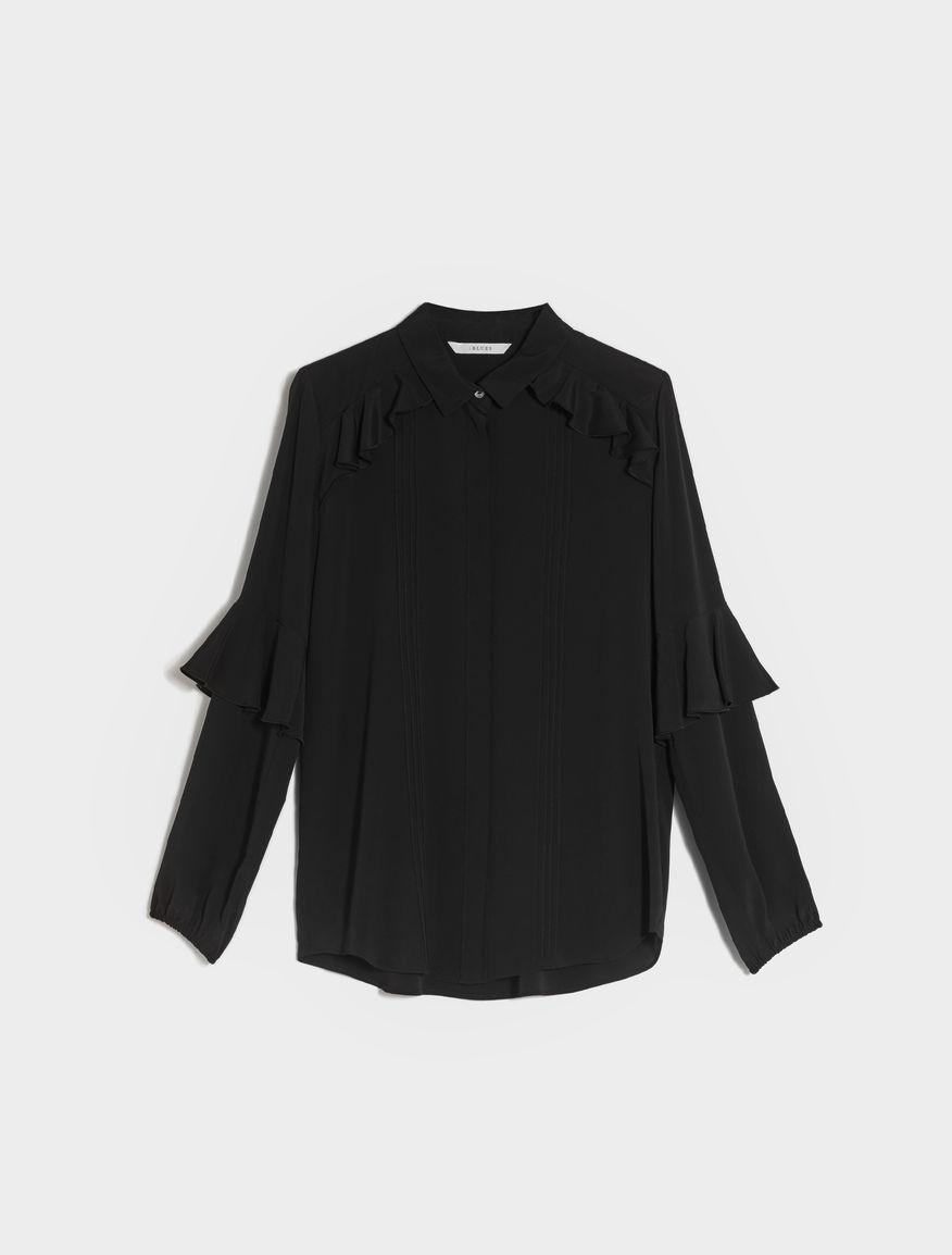 Silk blend shirt