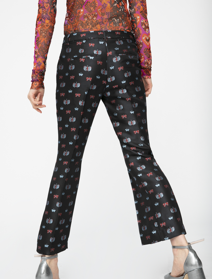 Pop-Up Stories flared trousers