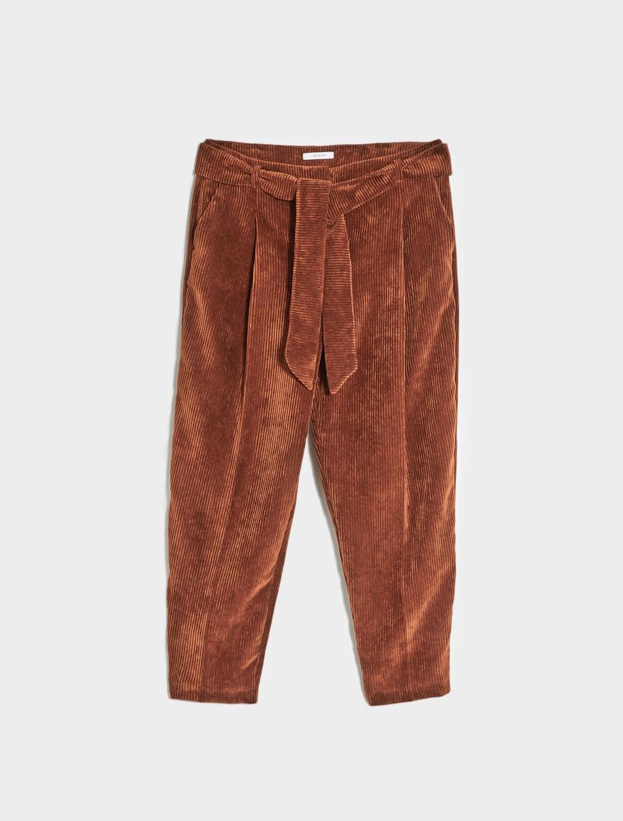 Velvet trousers