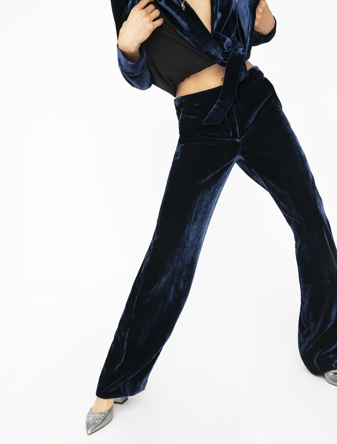 Velvet trousers iBlues