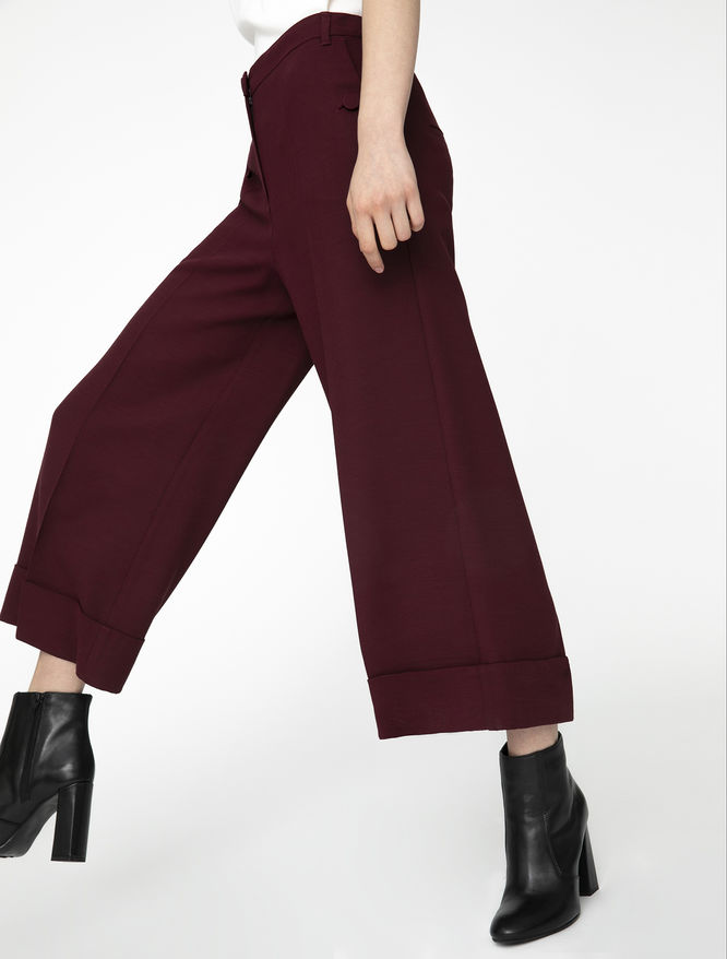 Cropped trousers iBlues