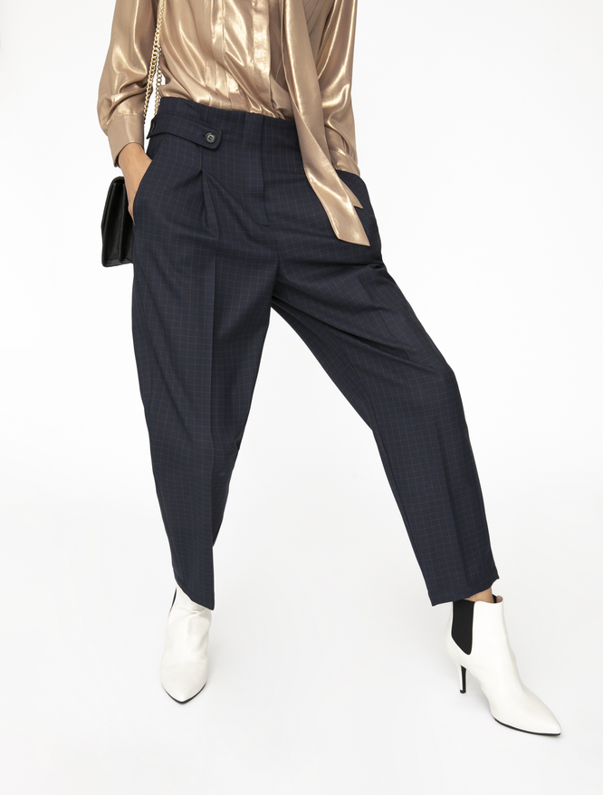 Carrot fit trousers iBlues