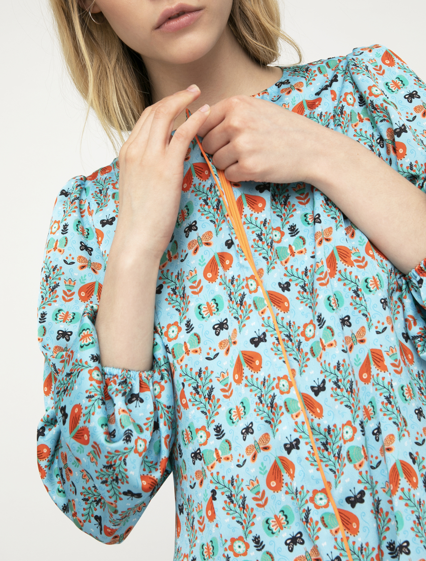Pop-Up Stories printed dress