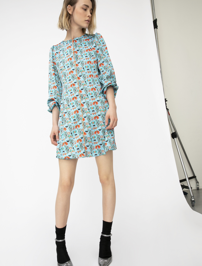 Pop-Up Stories printed dress iBlues