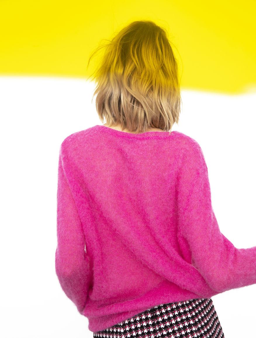 Mohair blend jumper