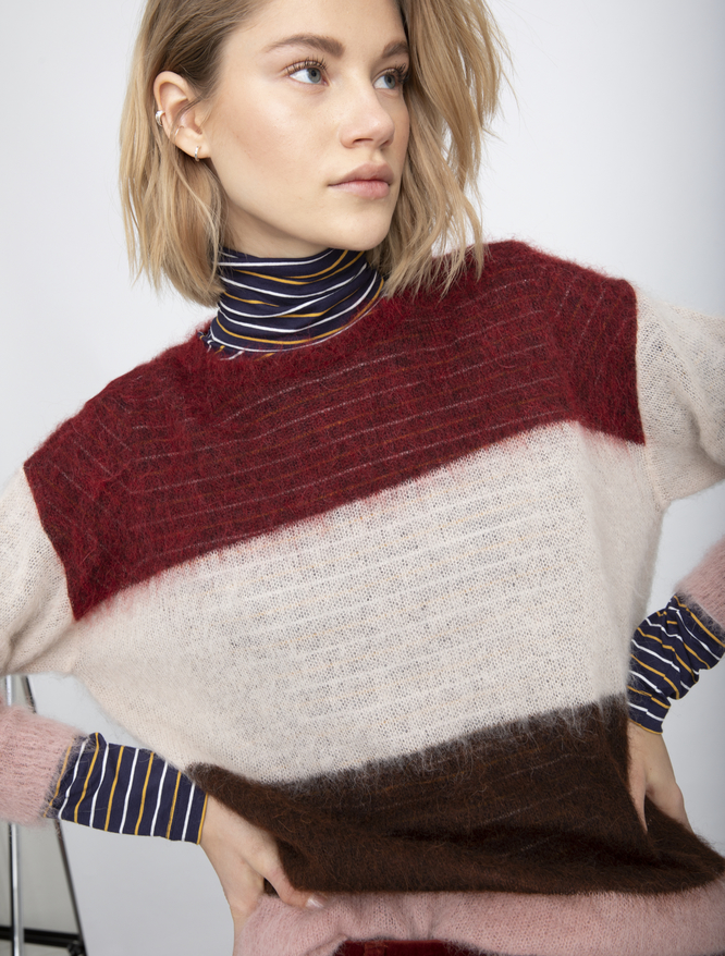 Colour block jumper iBlues