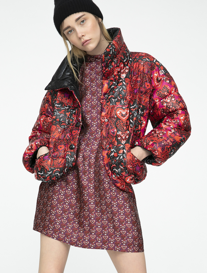 Pop-Up Stories reversible padded jacket iBlues