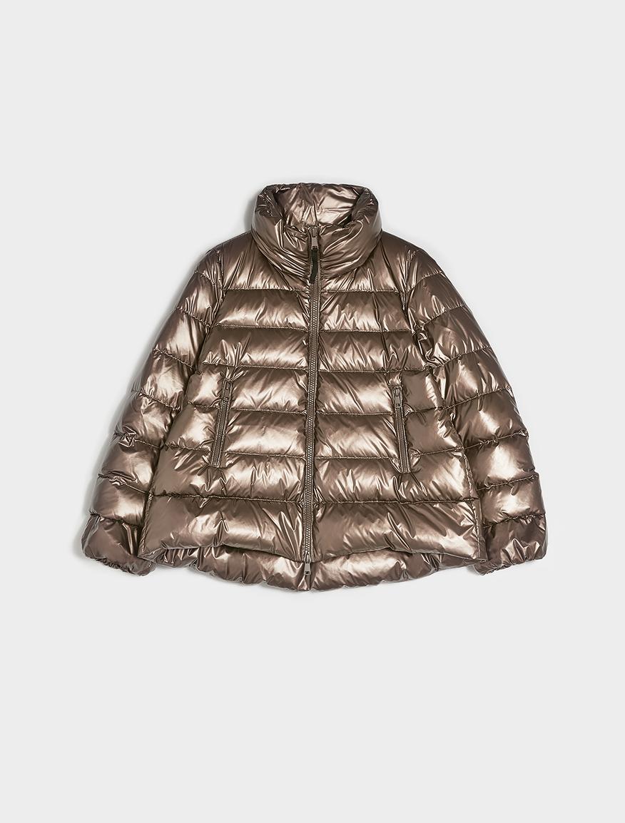 Laminated padded coat