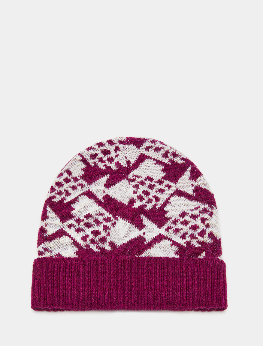 Pop-Up Stories patterned beanie
