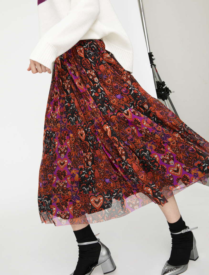 Pop-Up Stories tulle skirt