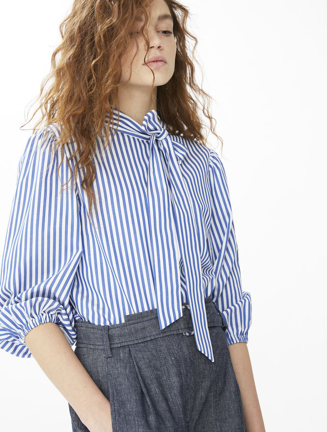 Striped blouse iBlues