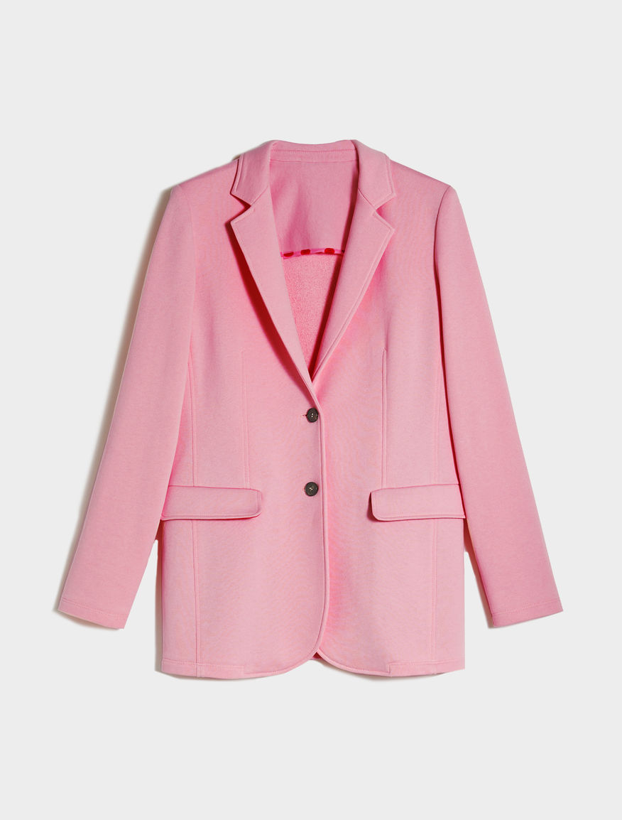 Fleece blazer