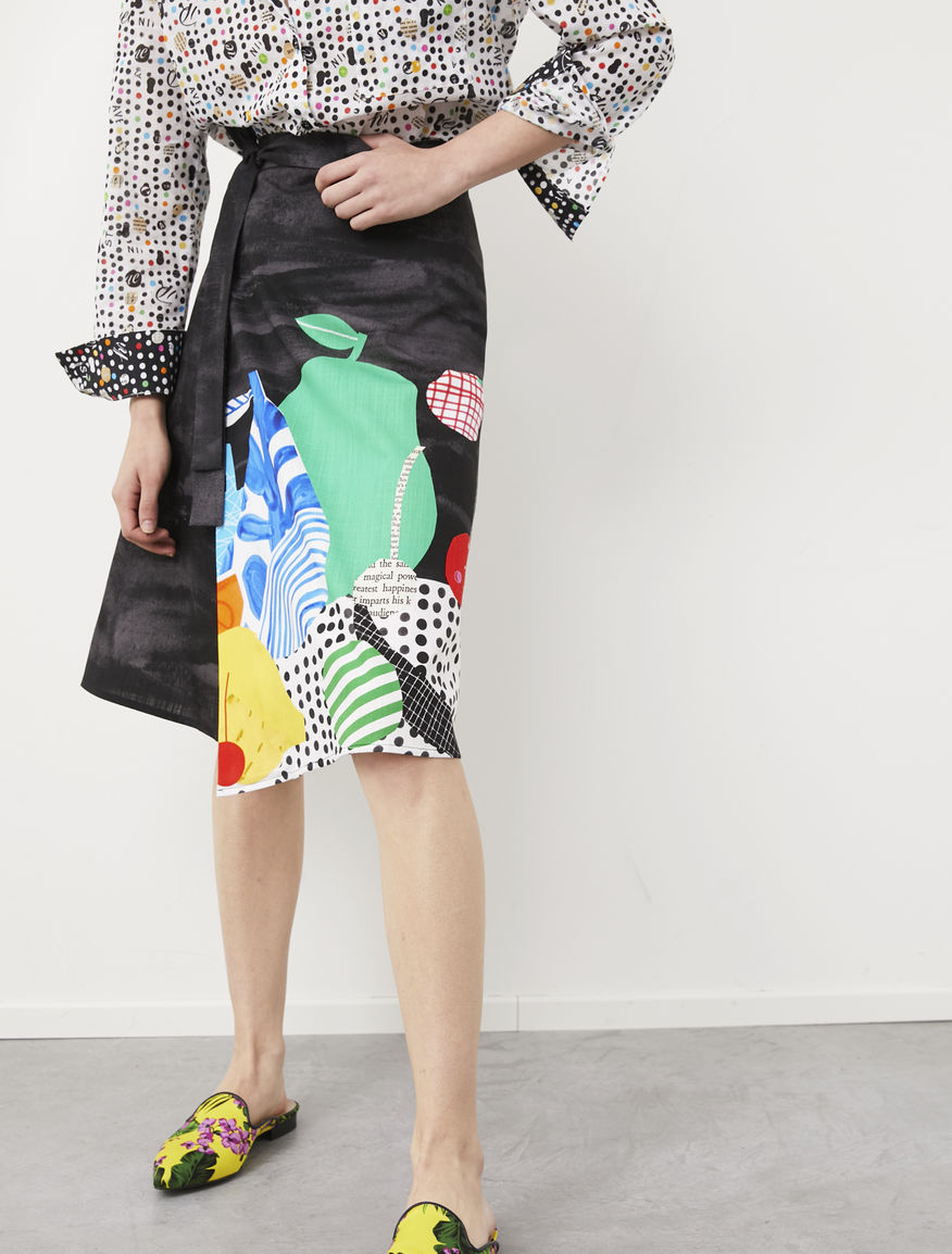 Frullage wrap skirt