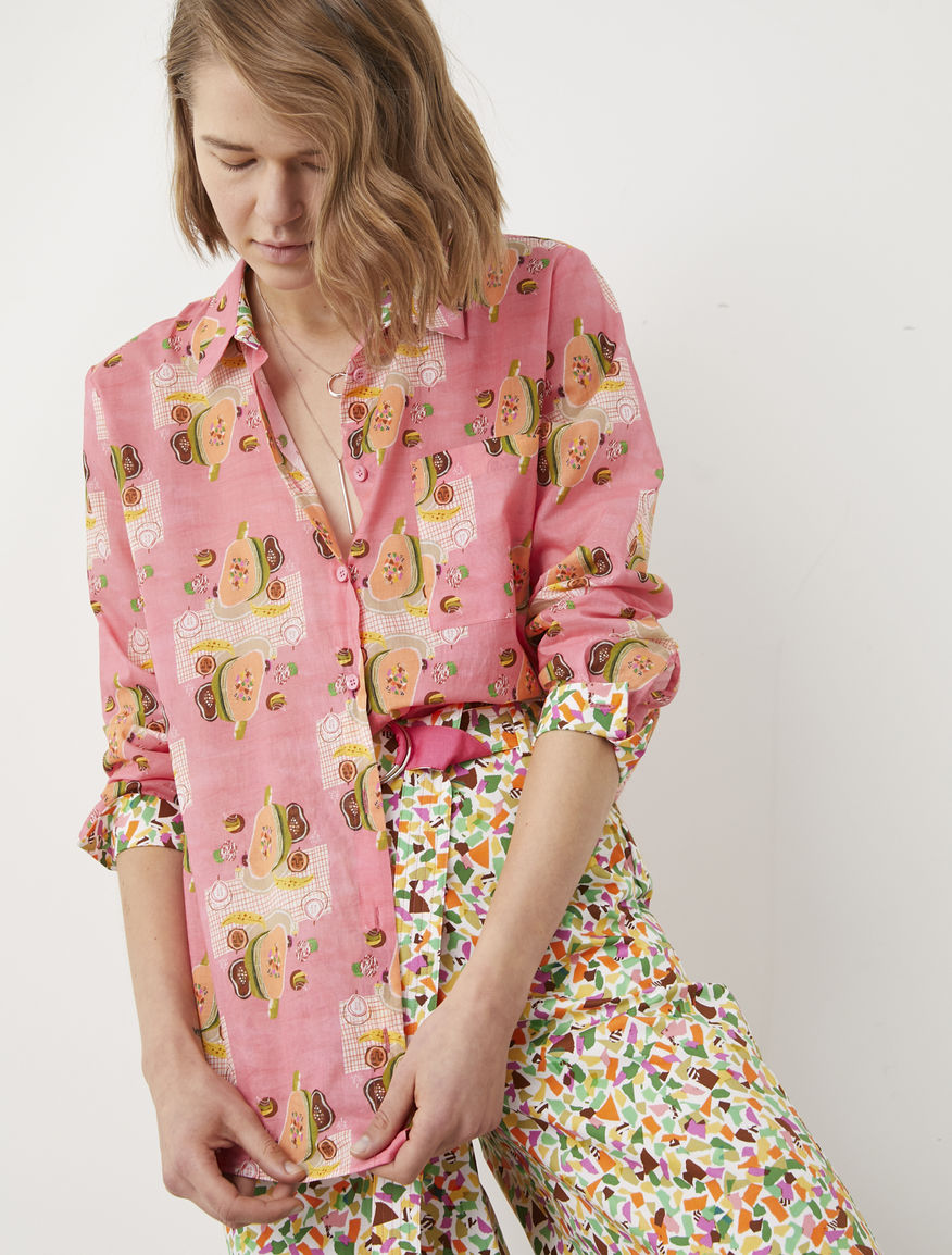 Frullage printed shirt