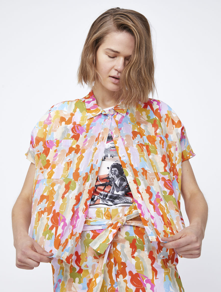 Boxy shirt
