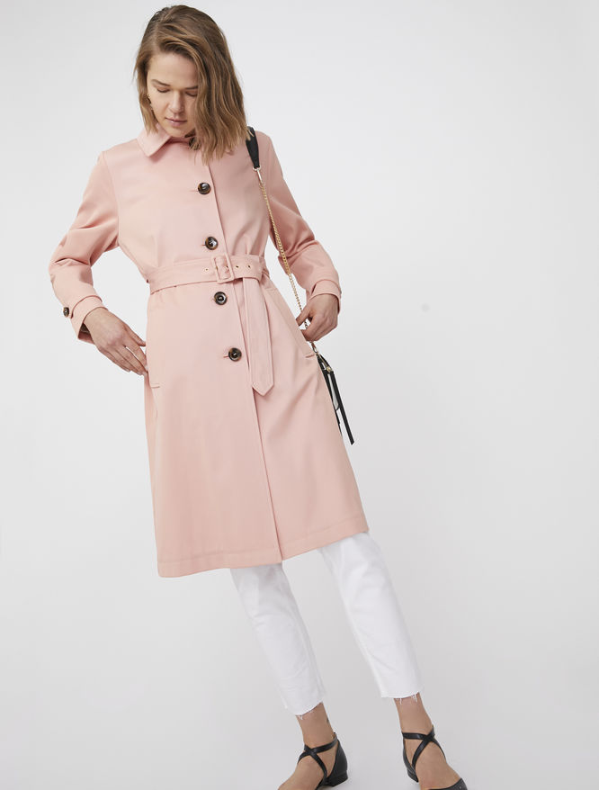 Belted trench coat iBlues