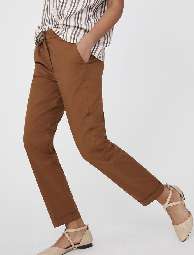 Semi-fitted trousers iBlues