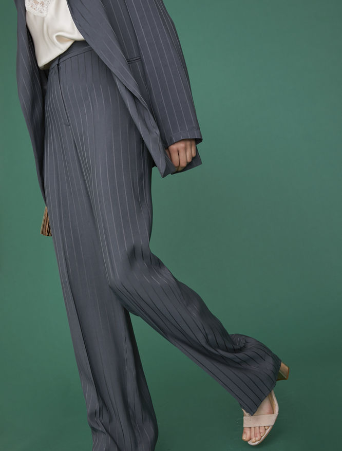 Pinstripe trousers iBlues