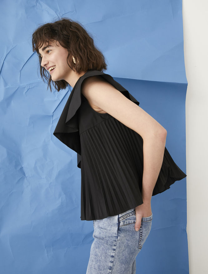 One-shoulder top iBlues