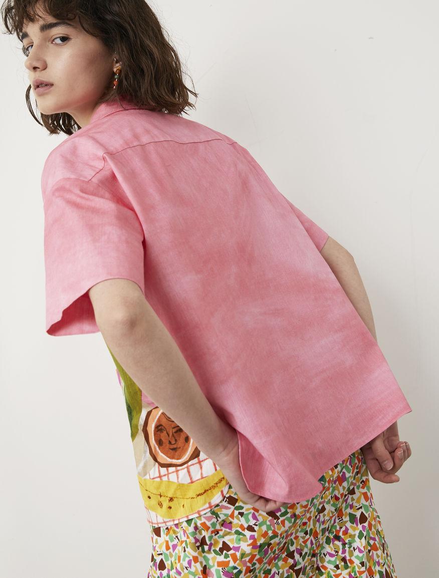 Camicia stampata Frullage