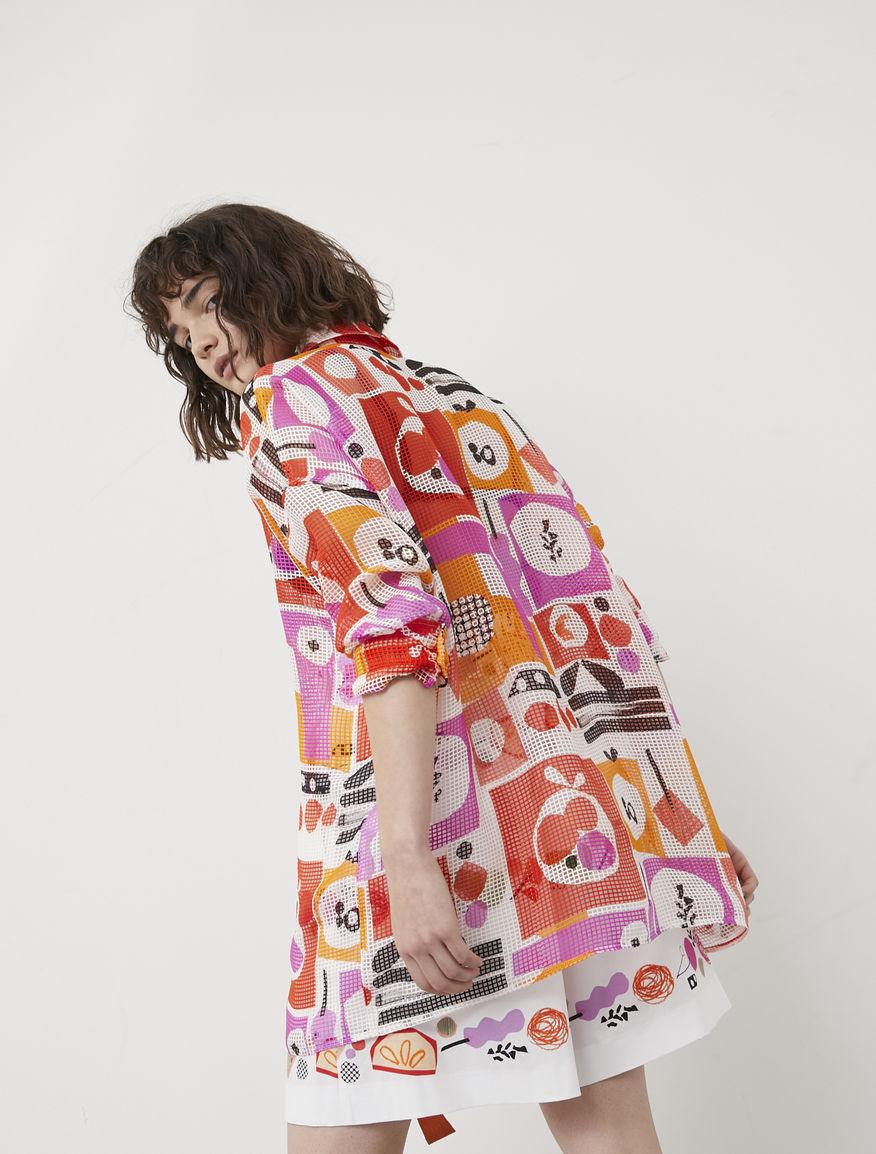 Frullage oversized shirt
