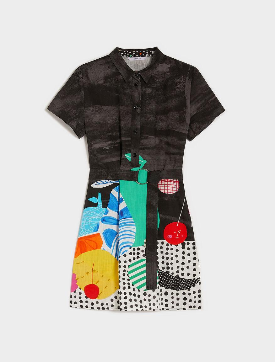 Frullage polo dress