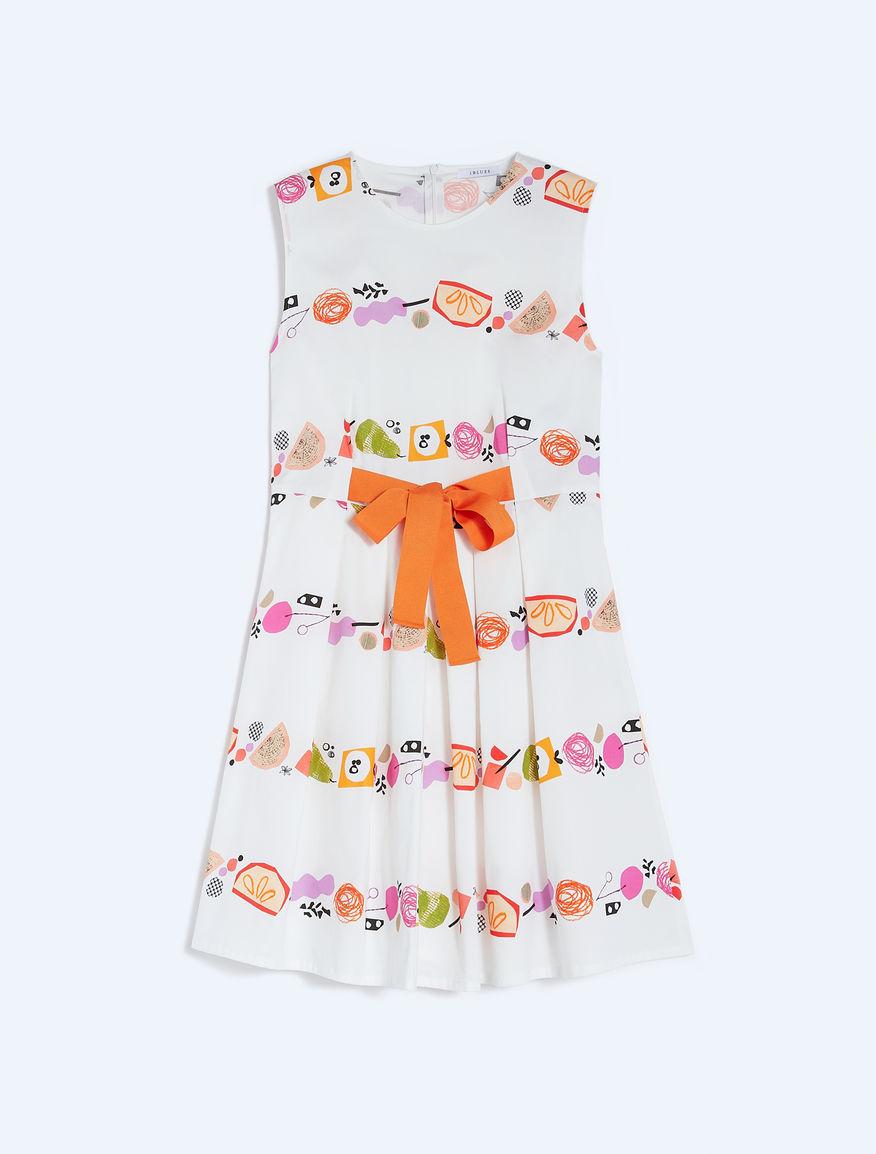 Frullage fit & flare dress