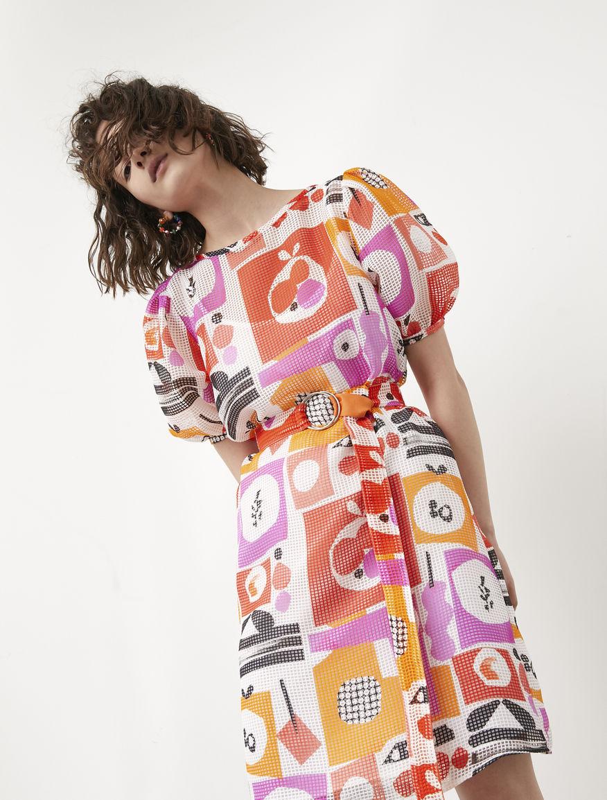 Frullage printed dress