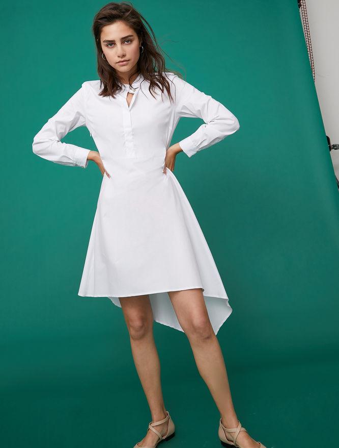 Asymmetric shirt dress iBlues