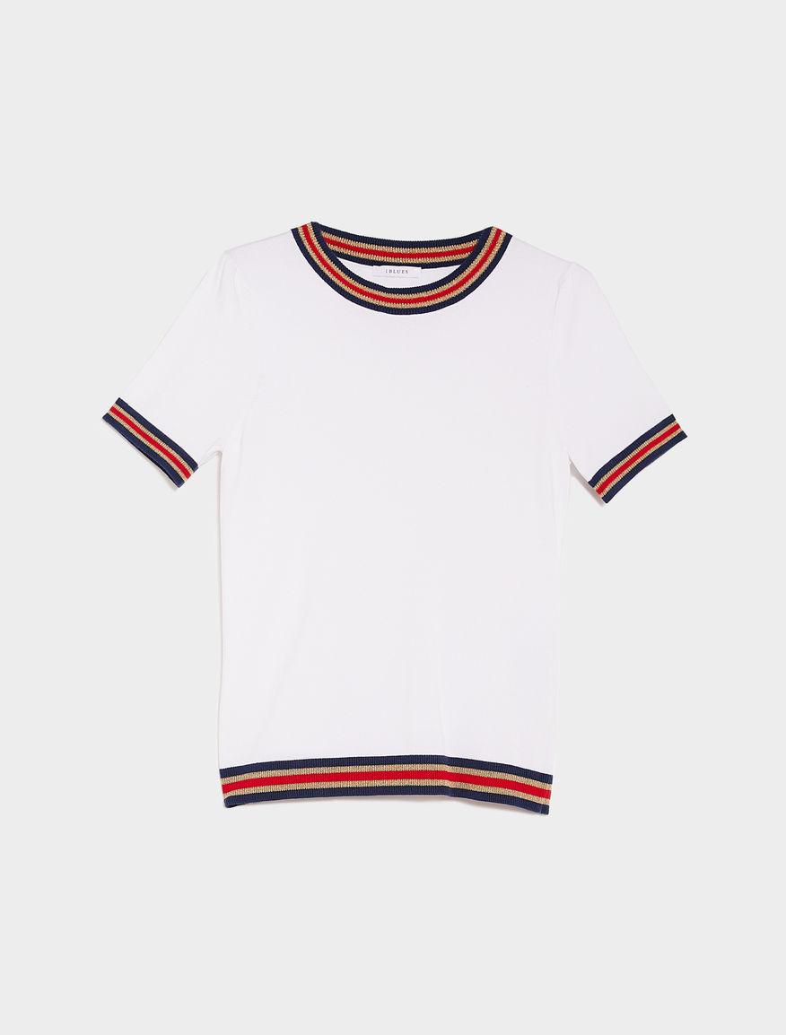 T-shirt in maglia
