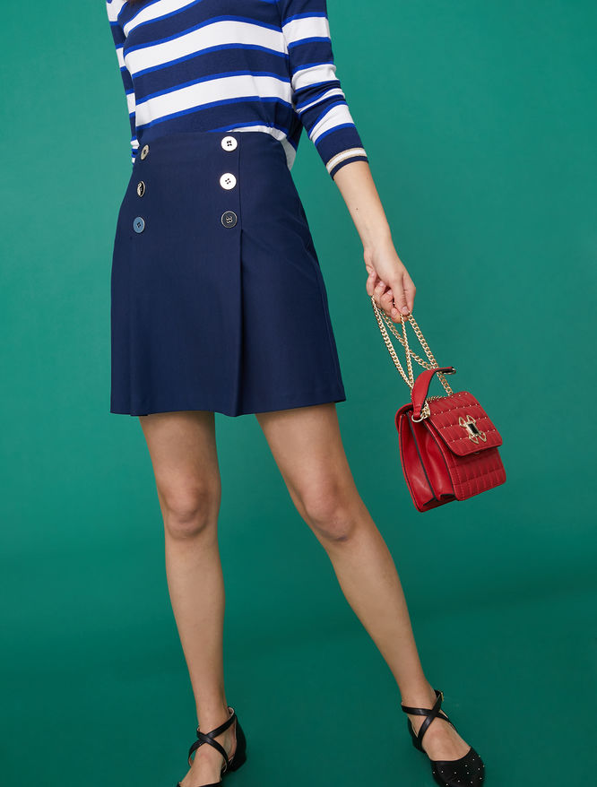 A-line mini skirt iBlues