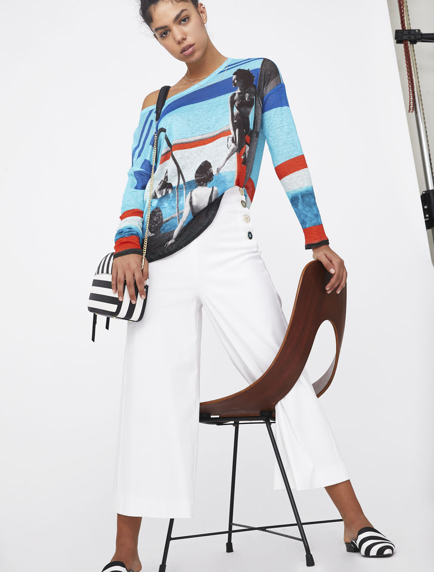 Linen jumper