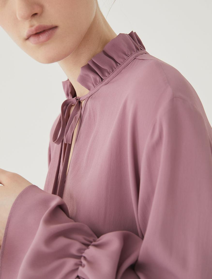 Silk blend blouse