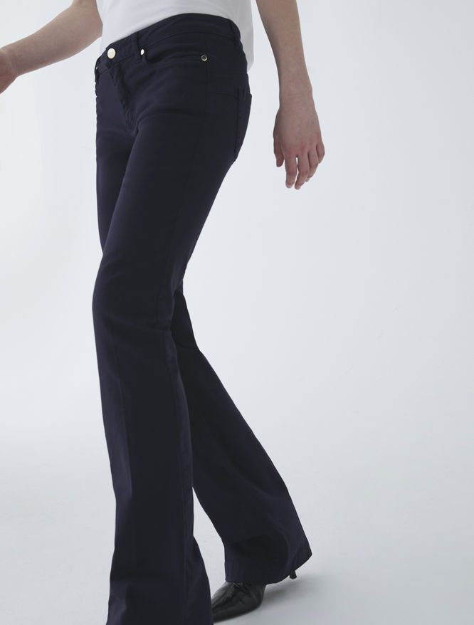 Flared trousers iBlues