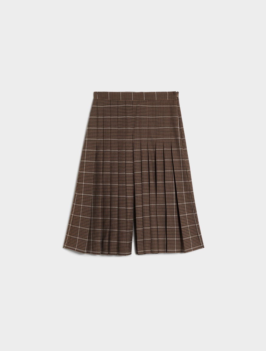 Patterned culottes