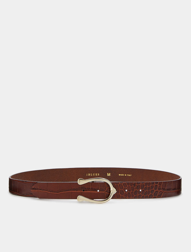 Leather belt iBlues