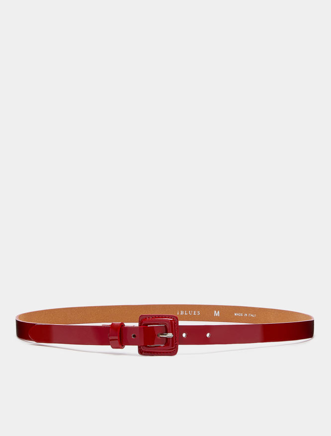 Patent leather belt iBlues