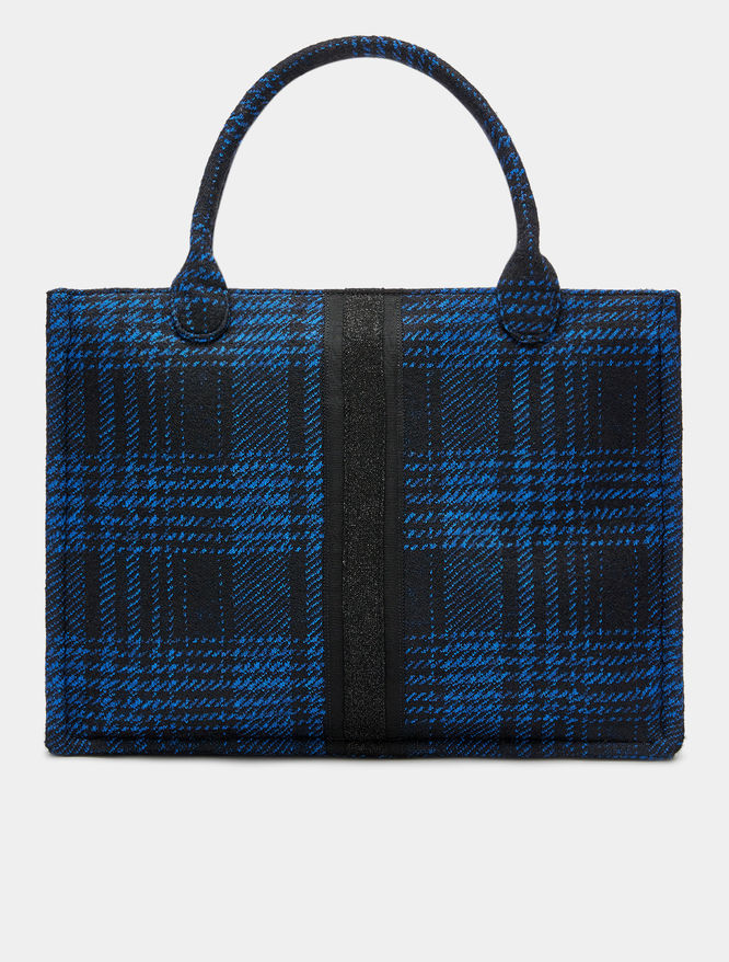 Patterned shopper iBlues
