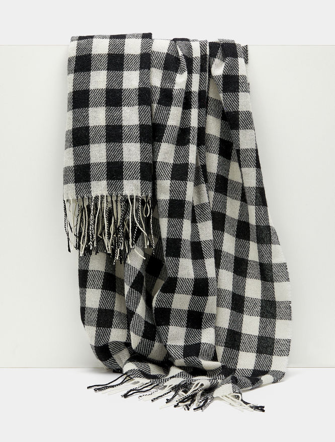 Checked scarf iBlues
