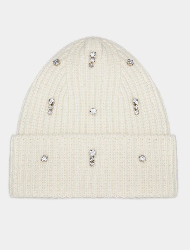 Rhinestone-embellished hat iBlues