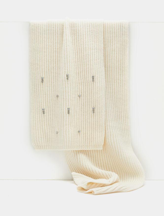 Rhinestone-embellished scarf iBlues