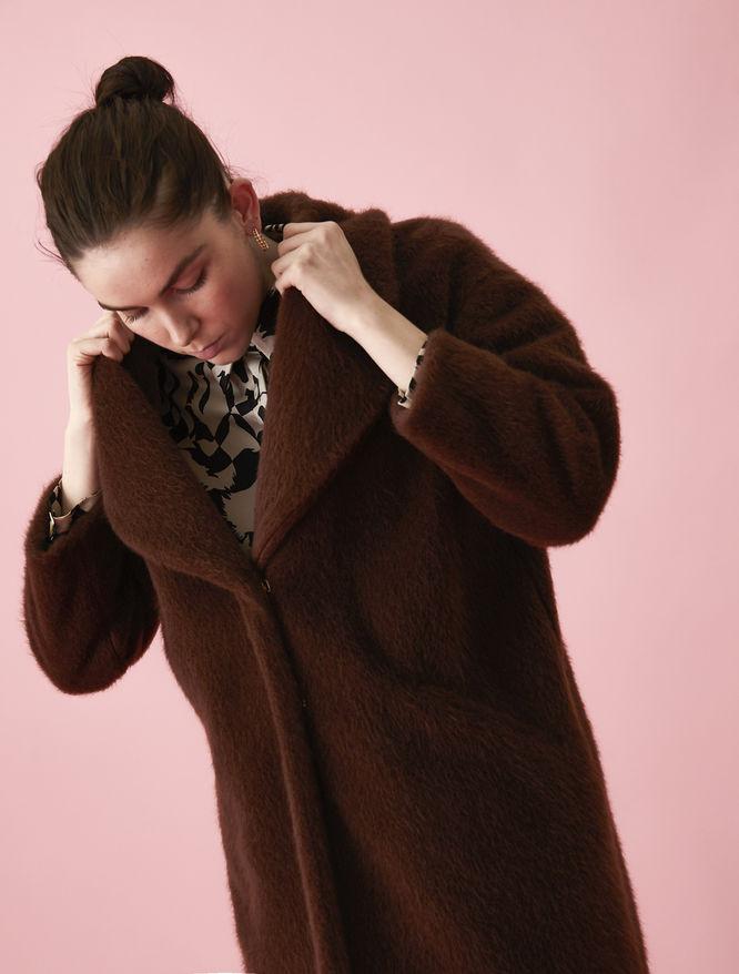 Boucle coat iBlues