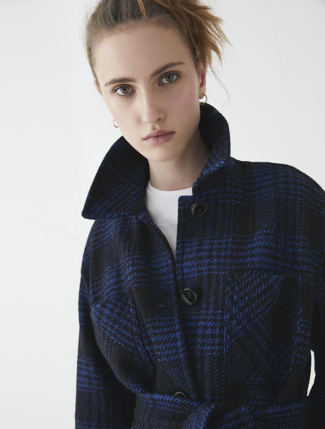 Checked jacket iBlues