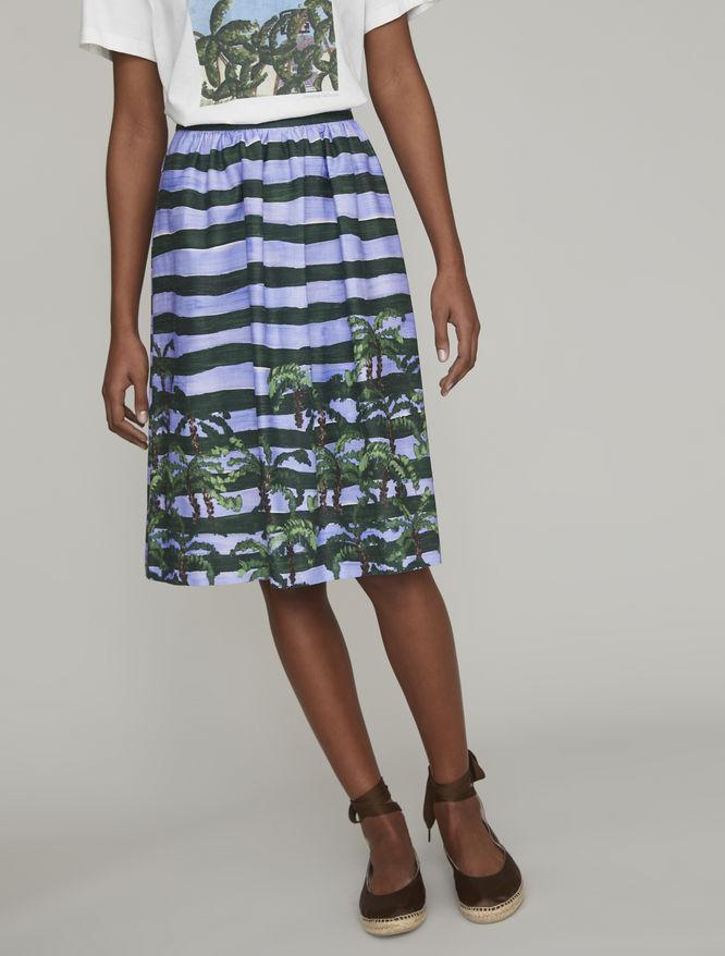 Printed skirt iBlues
