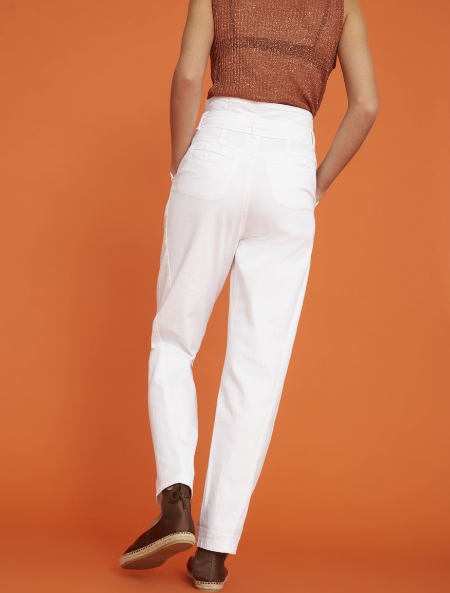 Pantaloni carrot fit