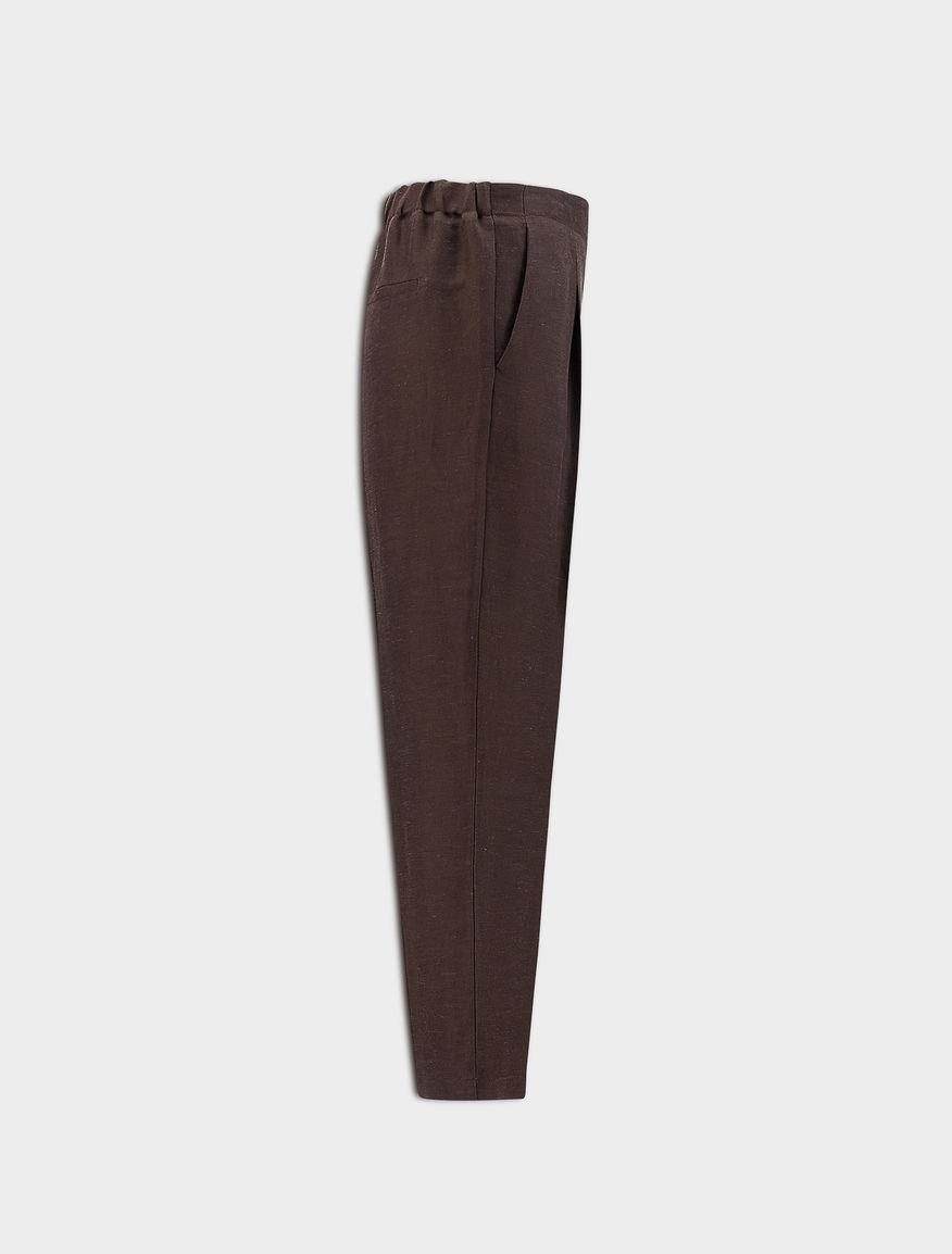 Pantaloni misto lino