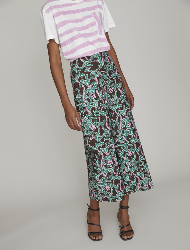 Printed trousers iBlues