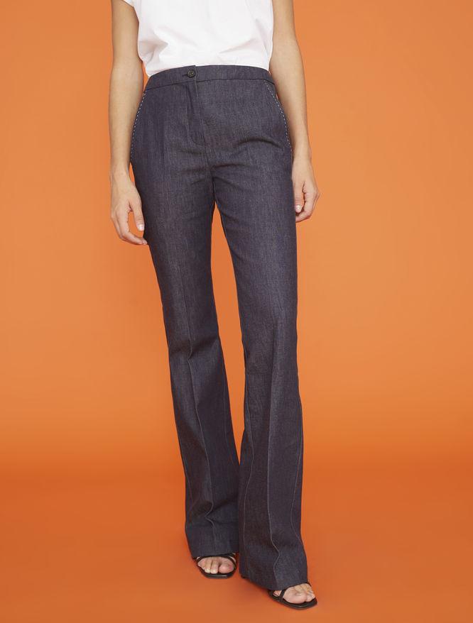 Denim-effect pants iBlues
