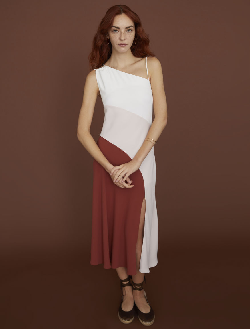 Satin camisole with a fluid silhouette